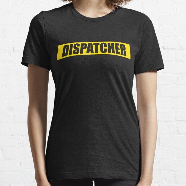 911 Dispatcher Yellow Line Essential T-Shirt