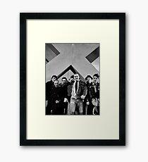 Under The Big X, Boston Crew 1981 Framed Print