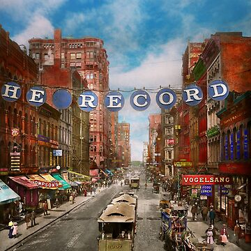 City - Chicago Il - Just for the record 1900 by mikesavad
