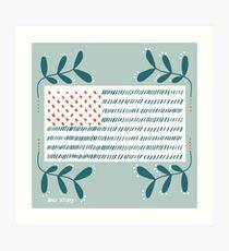Americana Flag Art Print