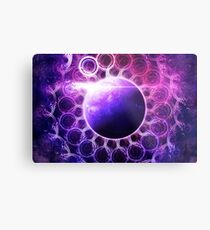 Deep Dream Fractal Mandala -- Deep Space Galaxy Dreamer Metal Print