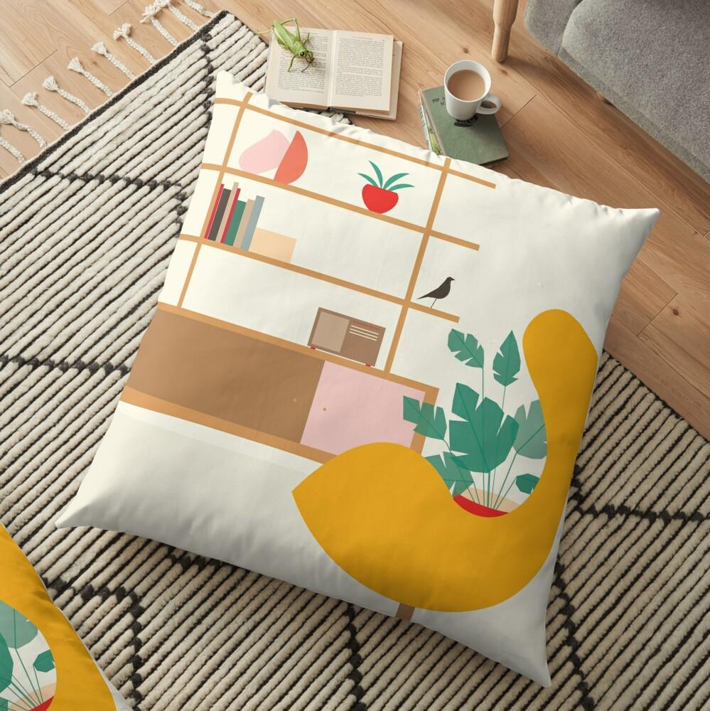 Inside mid century modern 321 Floor Pillow