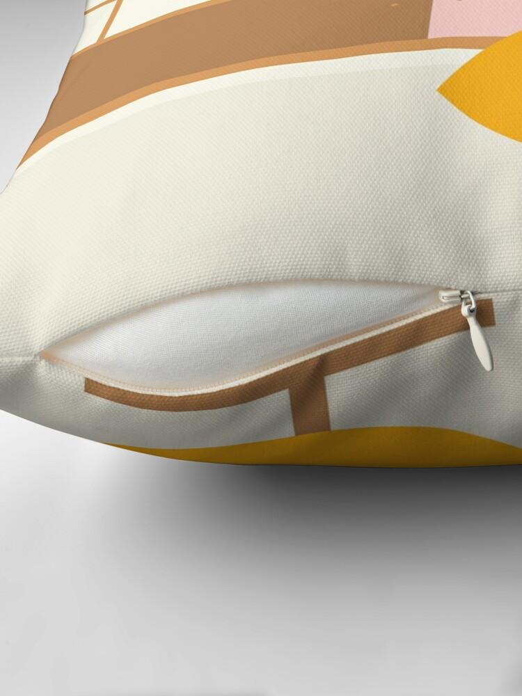 Alternate view of Inside mid century modern 321 Floor Pillow