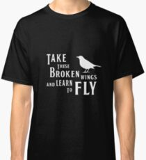 The Beatles' inspiration BLACKBIRD lyrics Classic T-Shirt