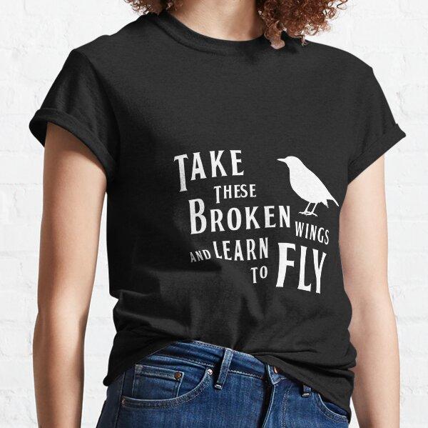 The Beatles' inspiration BLACKBIRD lyrics Classic T-Shirt