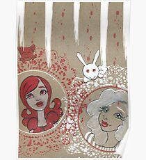 REd and White Lolitas Poster
