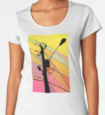 Wired Sky 1 Women's Premium T-Shirt