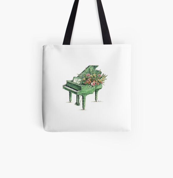 Garden Arrangement All Over Print Tote Bag