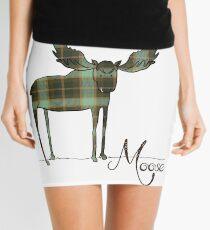 Moose in Plaid Mini Skirt