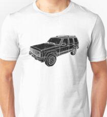 Jeep Cherokee - Black Unisex T-Shirt
