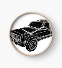 Jeep Cherokee - Black Clock