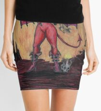 Aosoth - Sexy Devil Girl Mini Skirt