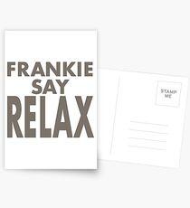 FRANKIE SAY RELAX Postcards
