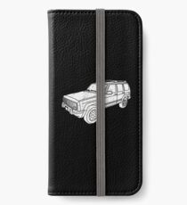 Jeep Cherokee - White iPhone Wallet/Case/Skin