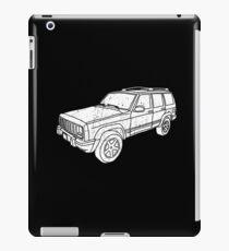 Jeep Cherokee - White iPad Case/Skin