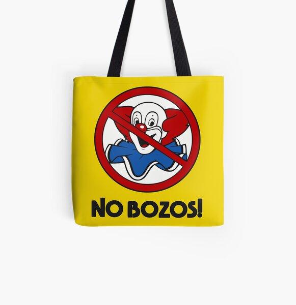 NO BOZOS All Over Print Tote Bag