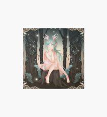 Reiko Forest Fauna - 2018 (Square) Art Board