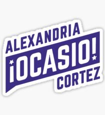 Pegatina Alexandria Ocasio Cortez