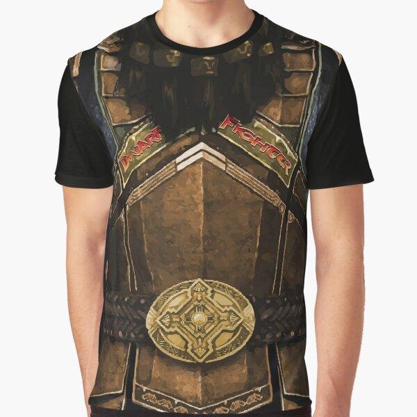 Dungeon Adventurewear: Dwarf Fighter Graphic T-Shirt