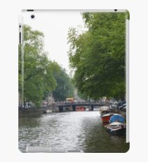 Canals in Amsterdam iPad Case/Skin