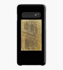 """""""The man in the arena"""" Theodore Roosevelt Case/Skin for Samsung Galaxy"""