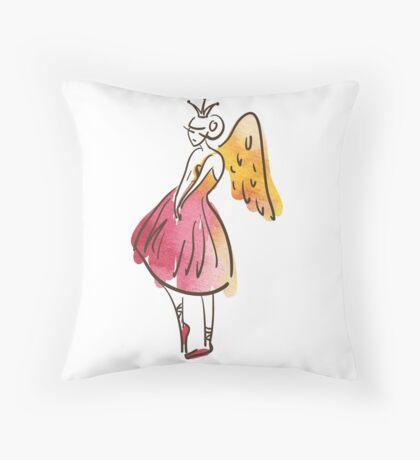 ballerina figure, watercolor Dekokissen