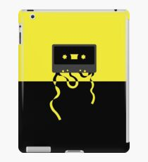 Yellow and Black Cassette Tape iPad Case/Skin