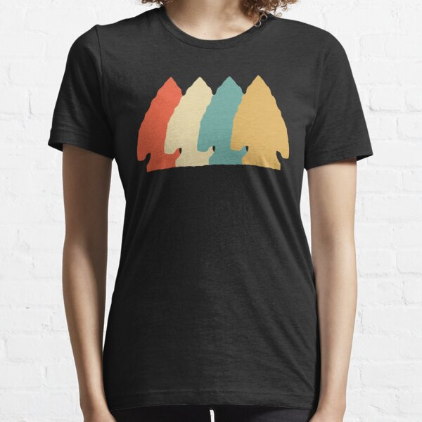 Arrowhead Hunting Collecting Vintage Retro Art Essential T-Shirt