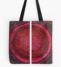 Split Infinity original painting Tote Bag