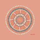 Whimsical Mandala by Andi Sigsbey