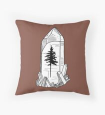 The forest is precious Throw Pillow