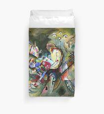 Kandinsky - Troubled Duvet Cover
