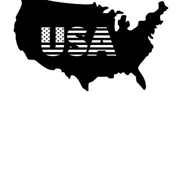 United States Map Flag American Patriotic Country Classic T-Shirt by kbasandra