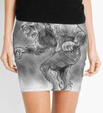 New wolfman design Mini Skirt