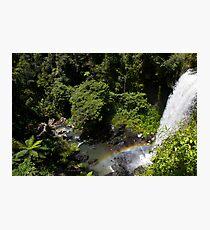 Rainbows & Waterfalls Photographic Print