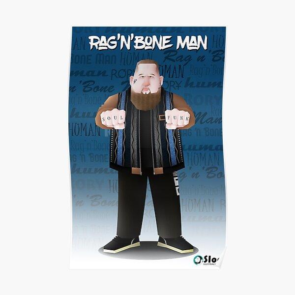 Rag'N'Bone Man 2.0 (new face tattoos) Póster