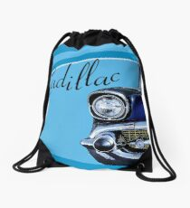 Lifestyle of the sixties Drawstring Bag