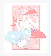 Pink Fortune Teller Photographic Print