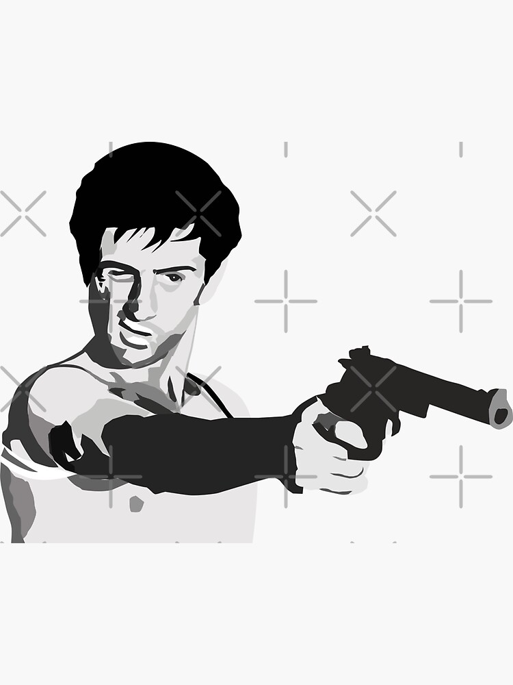 Travis Bickle - Taxi Driver - You talkin' to me? by mayerarts