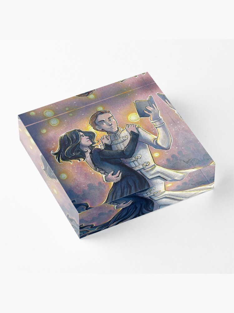 Alternate view of Dance of the Mistborn Acrylic Block