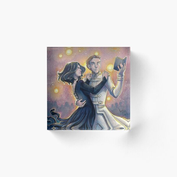 Dance of the Mistborn Acrylic Block