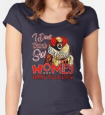 Homey dont play that Women's Fitted Scoop T-Shirt