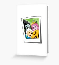 Adventure Time Photo Greeting Card