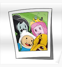 Adventure Time Photo Poster