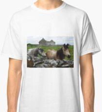 Connemara Ponies and Carron Church Classic T-Shirt