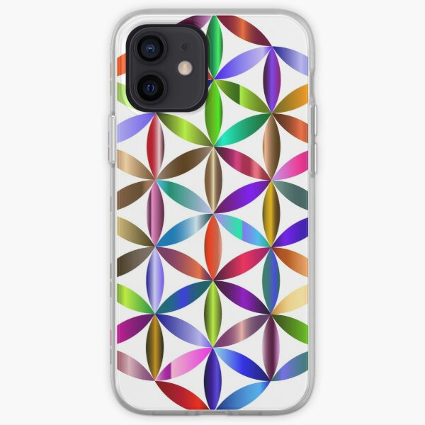 Flower of Life Blume des Lebens iPhone Flexible Hülle