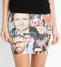 chris evans collage Mini Skirt