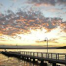 Murrays beach sunset by kristian smith
