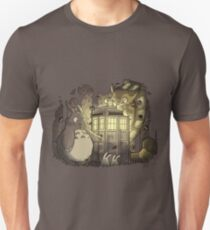 Tardis in the Forest Unisex T-Shirt