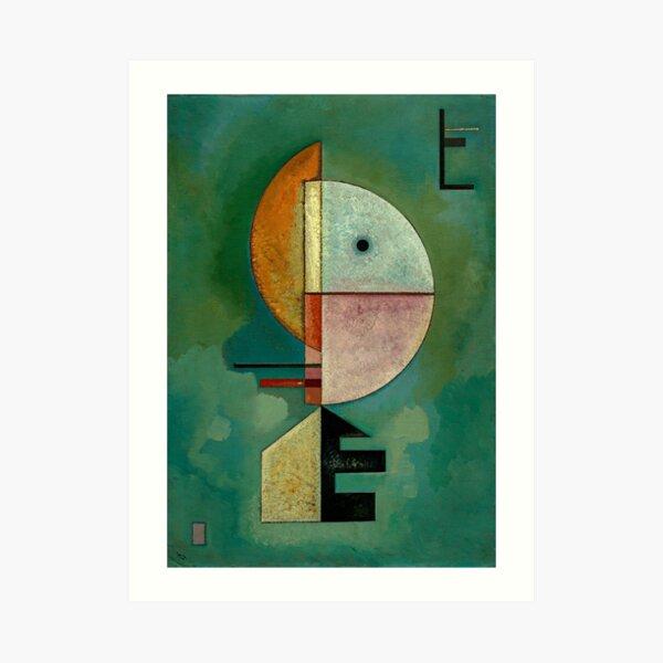 Kandinsky - Pintura famosa hacia arriba Lámina artística